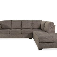Simmons Reversible Chaise Sofa Marge Carson Sofas Sale Sectional Modular Sectionals Mathis Brothers Two Piece Contemporary In Gray