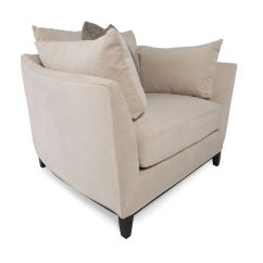 Low Profile Chairs Best Rocking Contemporary Arm Chair In Cream Mathis
