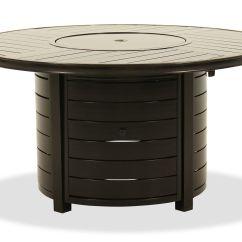 Sofas Tulsa Ok Concrete And Metal Sofa Table Round Aluminum Fire Pit In Dark Brown   Mathis ...