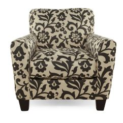 Home Decor Accent Chairs Target Vibrating Baby Chair Floral Printed Contemporary 35 Quot In Cream