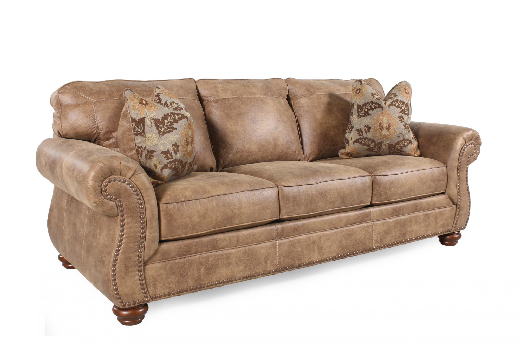 southwestern sofas macy s harper sofa with chaise traditional rolled arm 89 in earth tone mathis quot