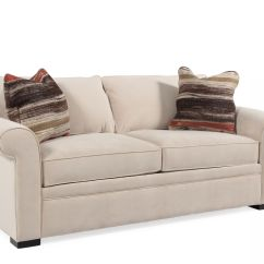 Galileo Cream Microfiber Queen Sleeper Sofa Sectional Bed Leather Furniture Twin Size