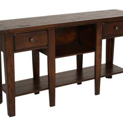 Dark Sofa Tables Rattan Garden Furniture Set Two Drawer Country Table In Oak Mathis