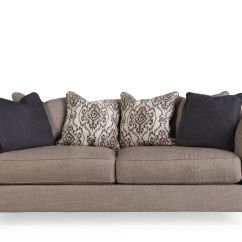 Grey Carleton Nailhead Sofa Sofas Chaise Longue Boom Traditional Accented 93 Quot In Stone Gray