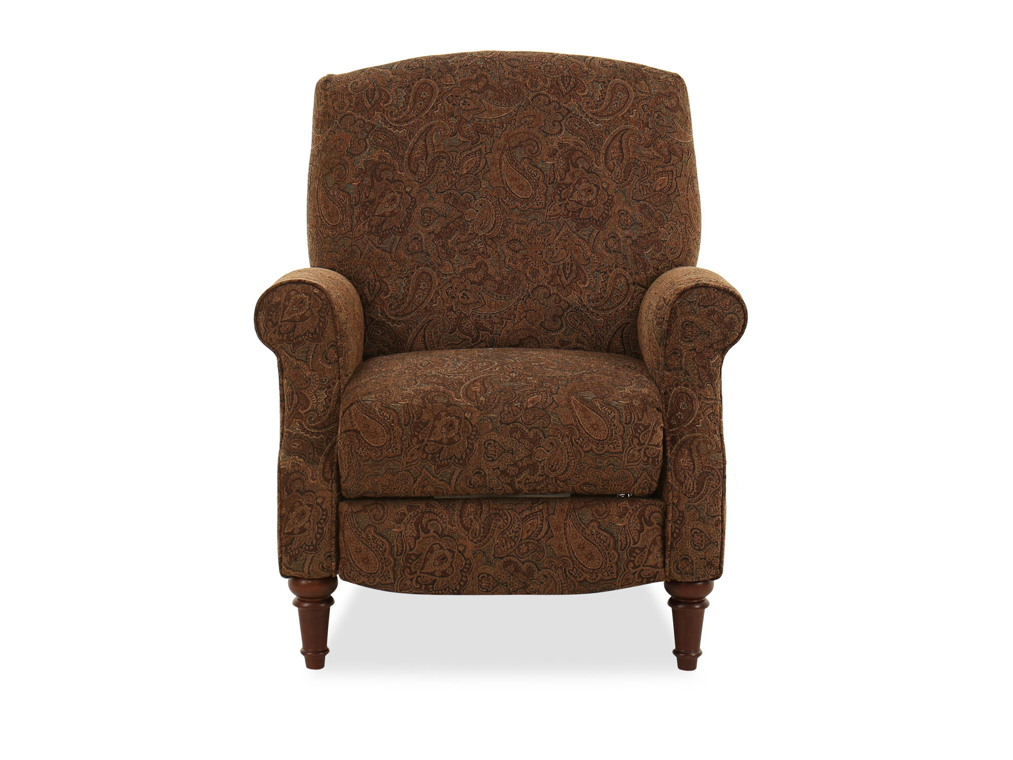 FloralPatterned 32 HighLeg Recliner  Mathis Brothers