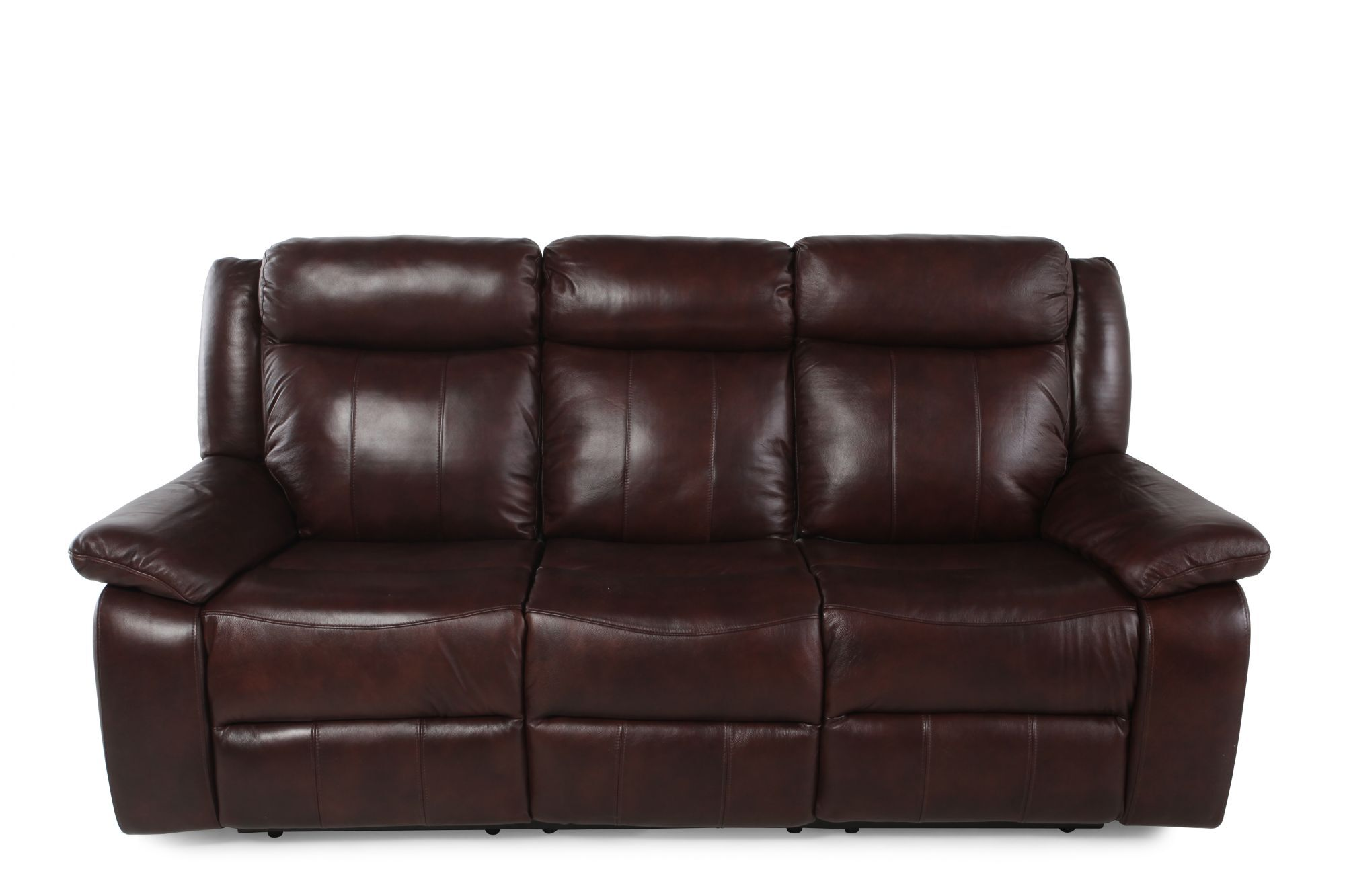 sofa reclinable 3 cuerpos ripley seattle sofascore mathis brothers leather sofas rolled arm 88