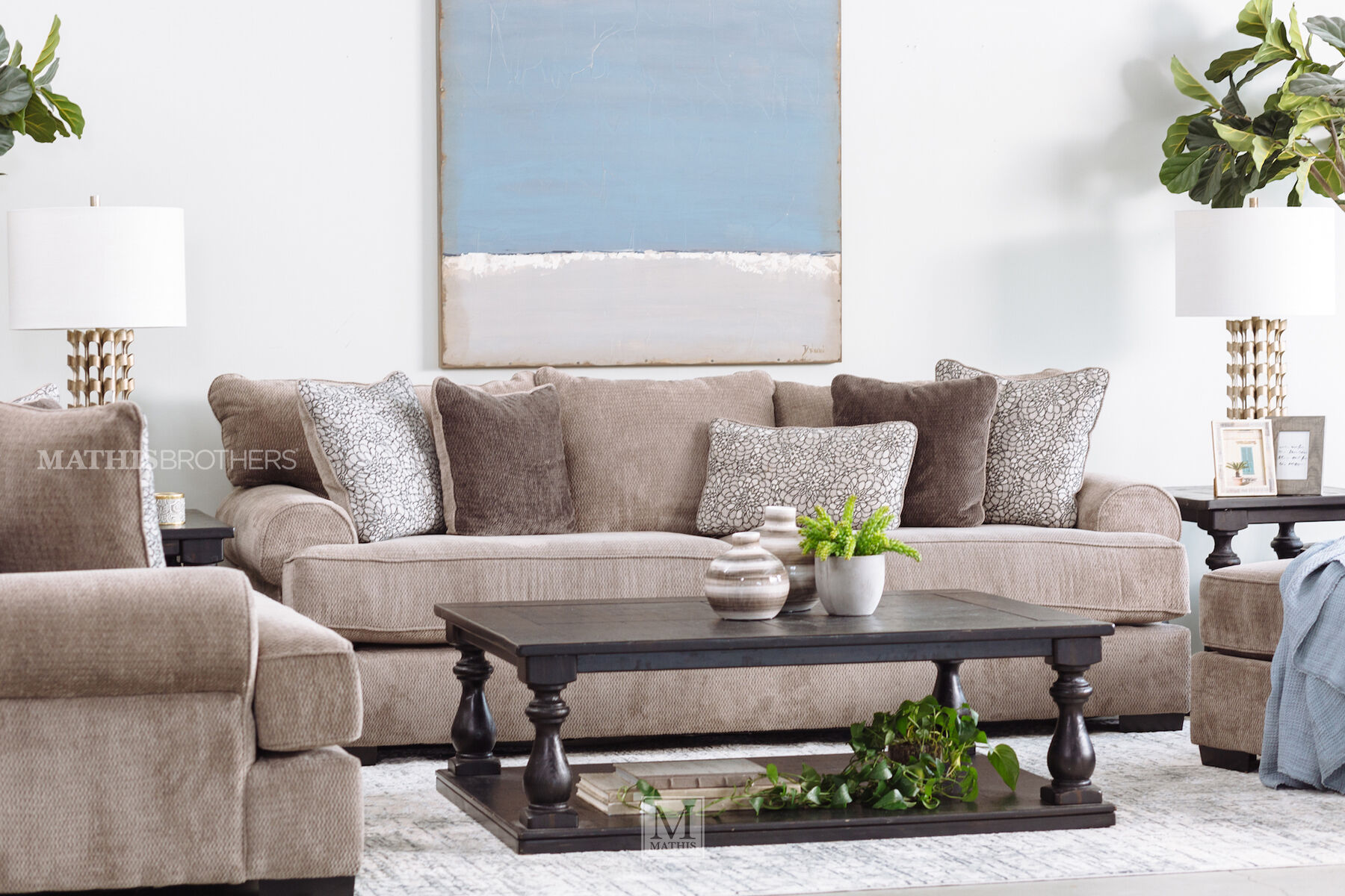 LowProfile 96 Sofa in Gray  Mathis Brothers Furniture