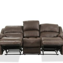 Nailhead Recliner Sofa Elegant Set Philippines Accented 86 Quot Reclining In Brown Mathis