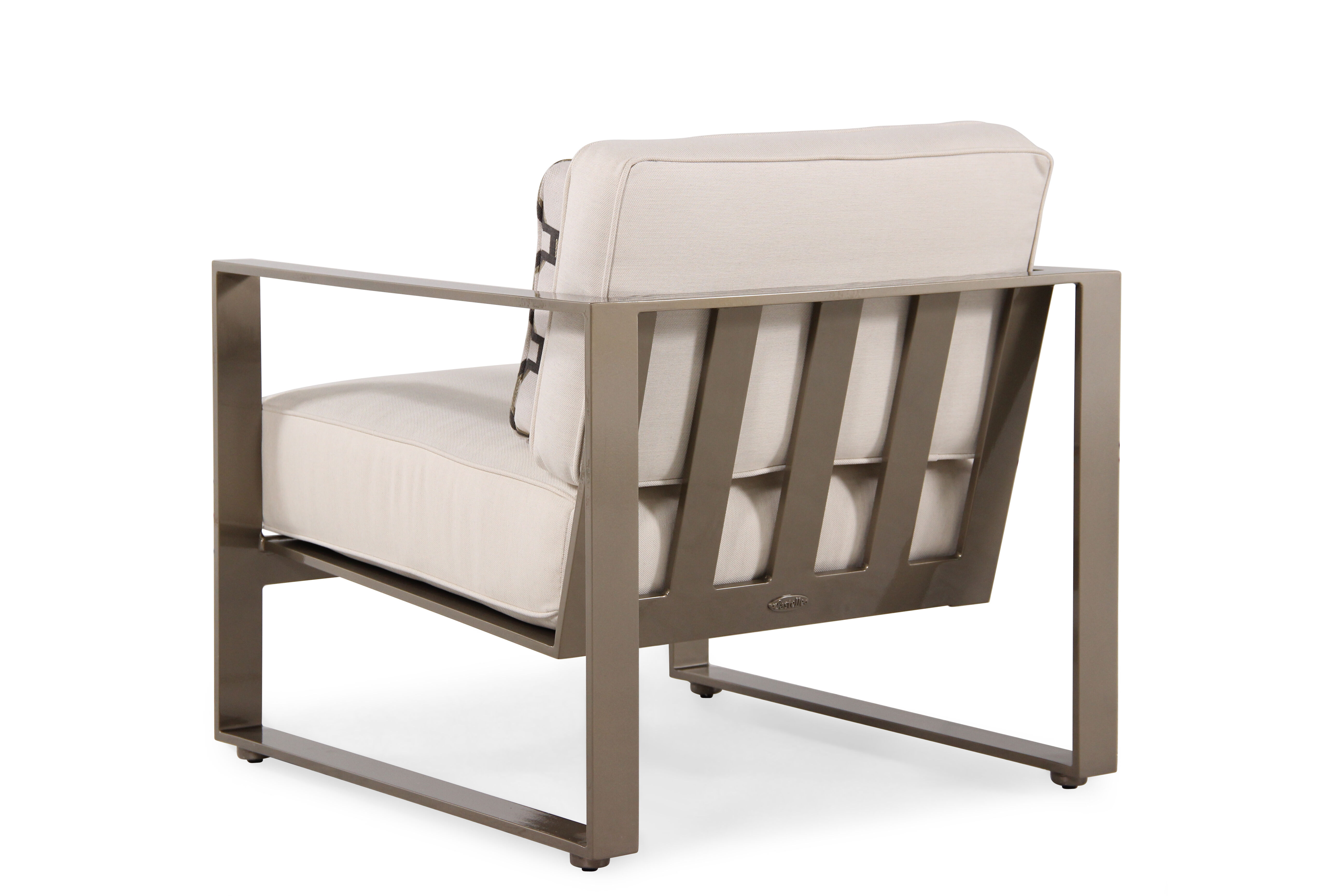 cream lounge chair office kohls weather resistant aluminum in mathis