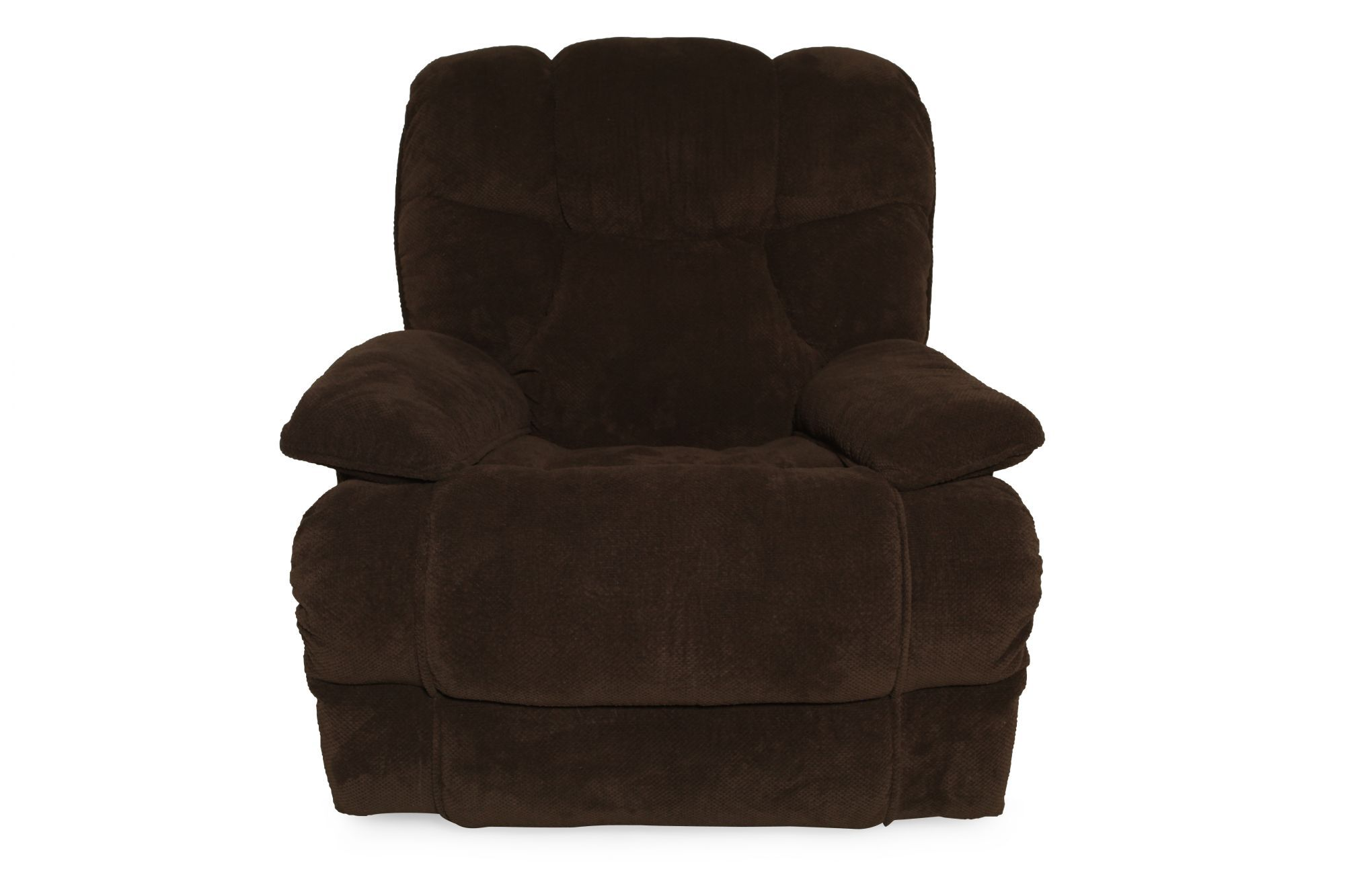 "Gravity Casual 40"" Massage Recliner In Deep Chocolate"