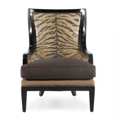 Home Decor Accent Chairs Chair Covers By The Bulk Animal Printed Contemporary 34 Quot Mathis