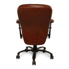 Ergonomic Chair Tilt Mlg Gaming Leather Swivel Desk In Brown Mathis