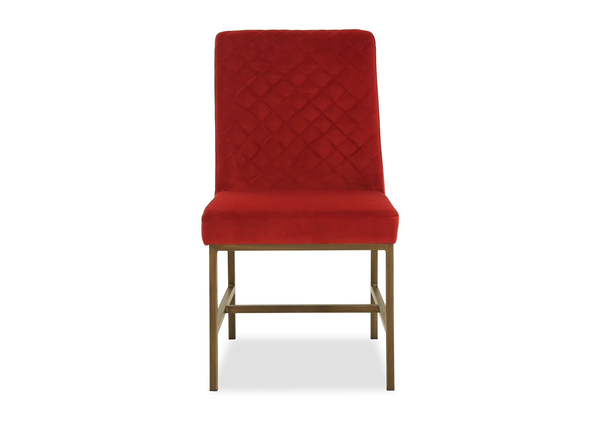 red tufted dining chair global upholstery 69a7019 casual diamond in mathis brothers furniture images