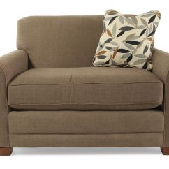Sleeper Chair Oversized Living Room With Ottoman Textured Contemporary 54 Quot In Brown Mathis