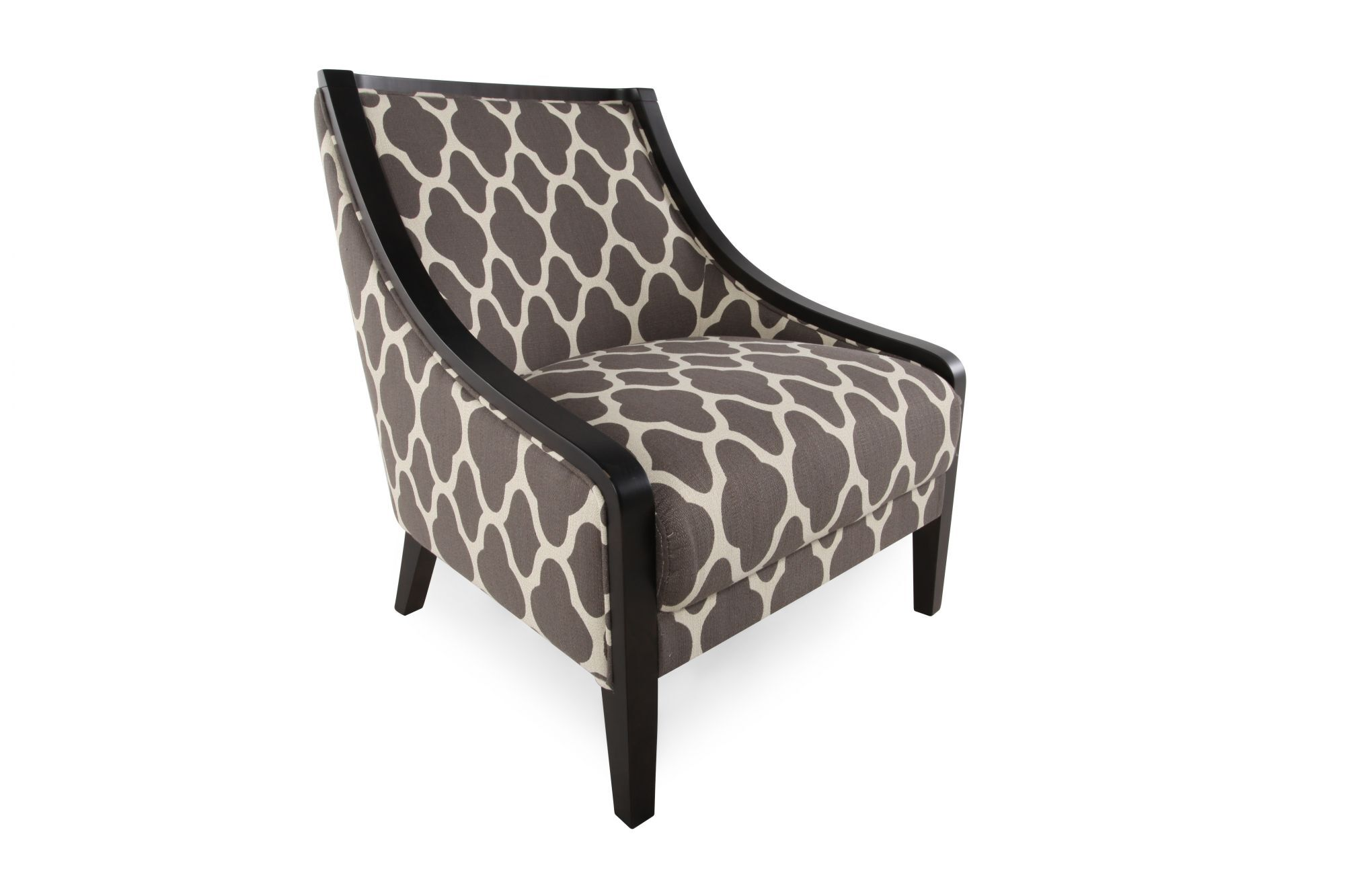 accent chairs gray pattern ikea living room quatrefoil patterned contemporary 28 quot chair in dove