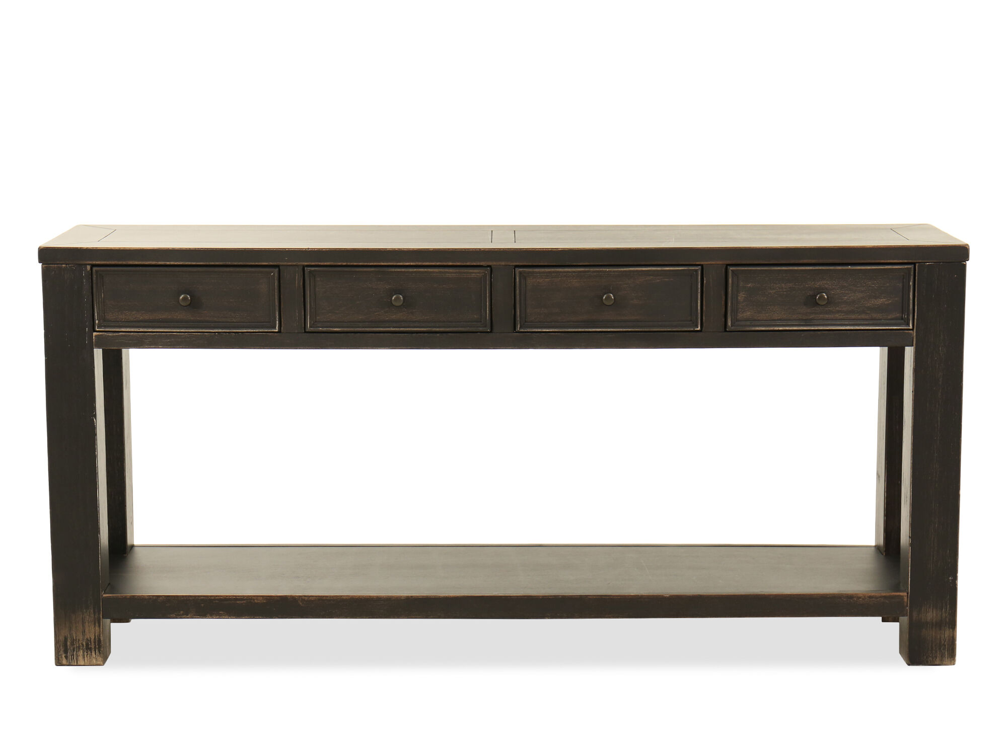 addison sofa ashley furniture john lewis todd review table drawers living room narrow wood console ...