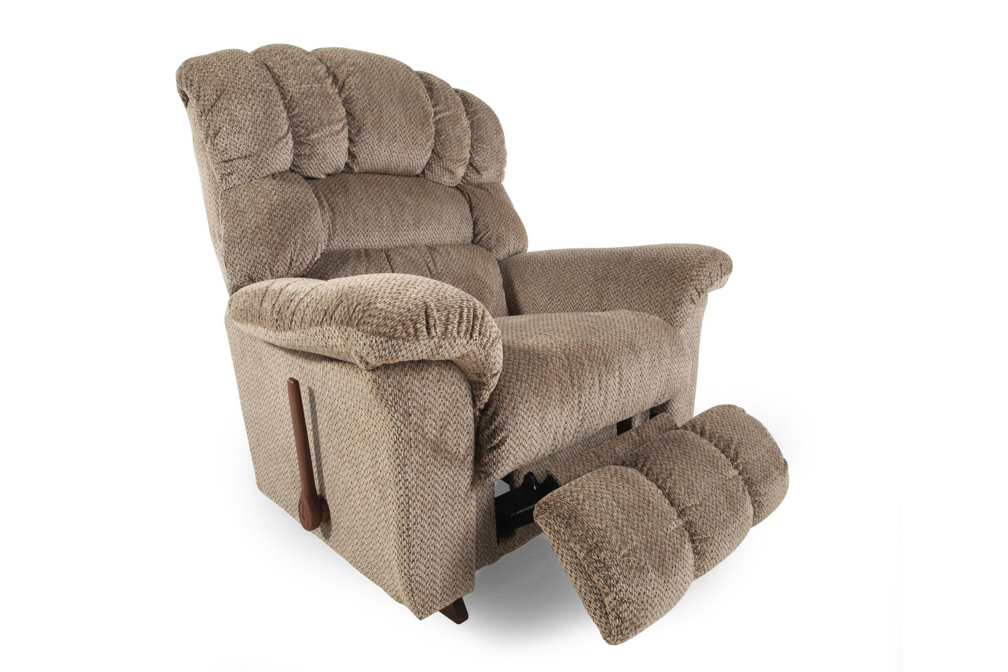 la z boy big man chair reclining theaters san jose casual 46 quot rocker recliner in bamboo mathis brothers