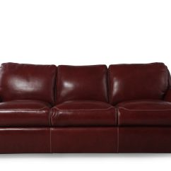 Low Profile Leather Sectional Sofa Vintage Danish Bed Uk 37 Quot In Salsa Red Mathis