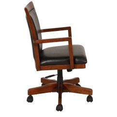 Swivel Office Chair Base Flash Furniture Desk In Rich Oak Mathis Brothers