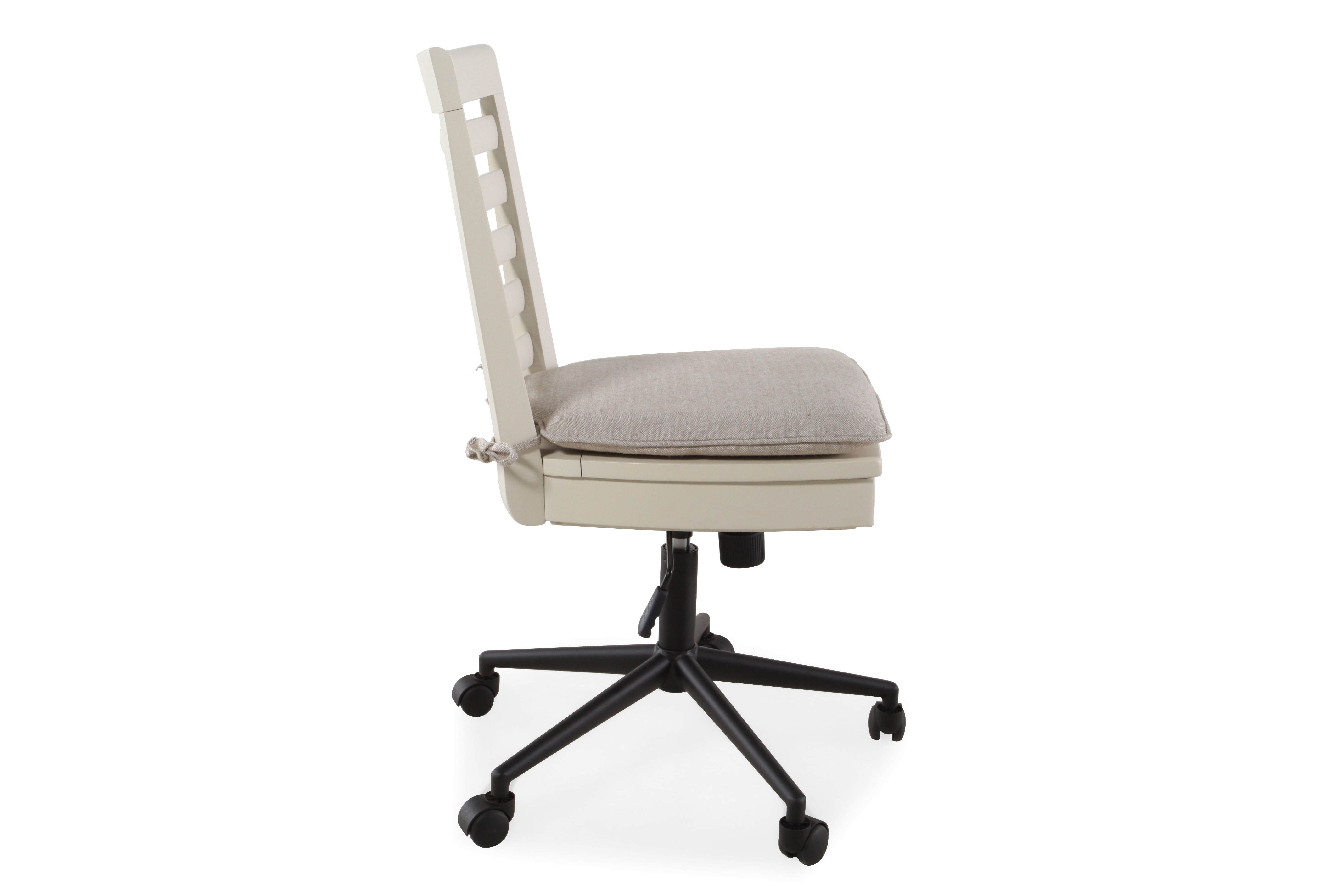 swivel chair child how to weave a seat with shaker tape universal myroom white desk mathis