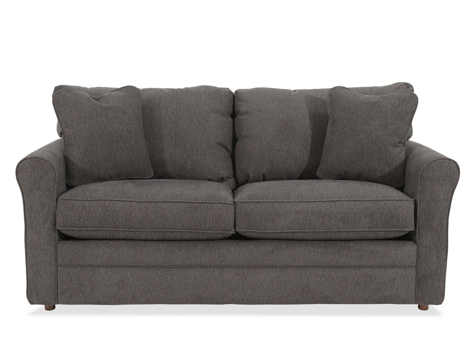 la z boy diana sleeper sofa white cotton duck slipcovers natalie premier supreme comfort