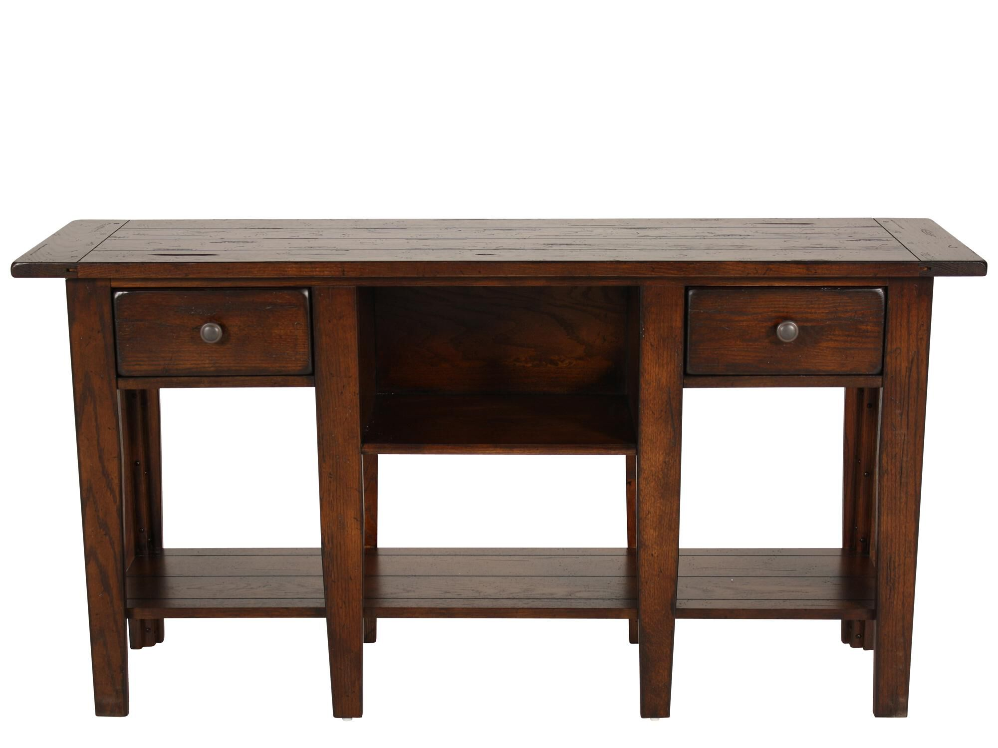 country cote sofa table white microfiber reclining two drawer in dark oak mathis
