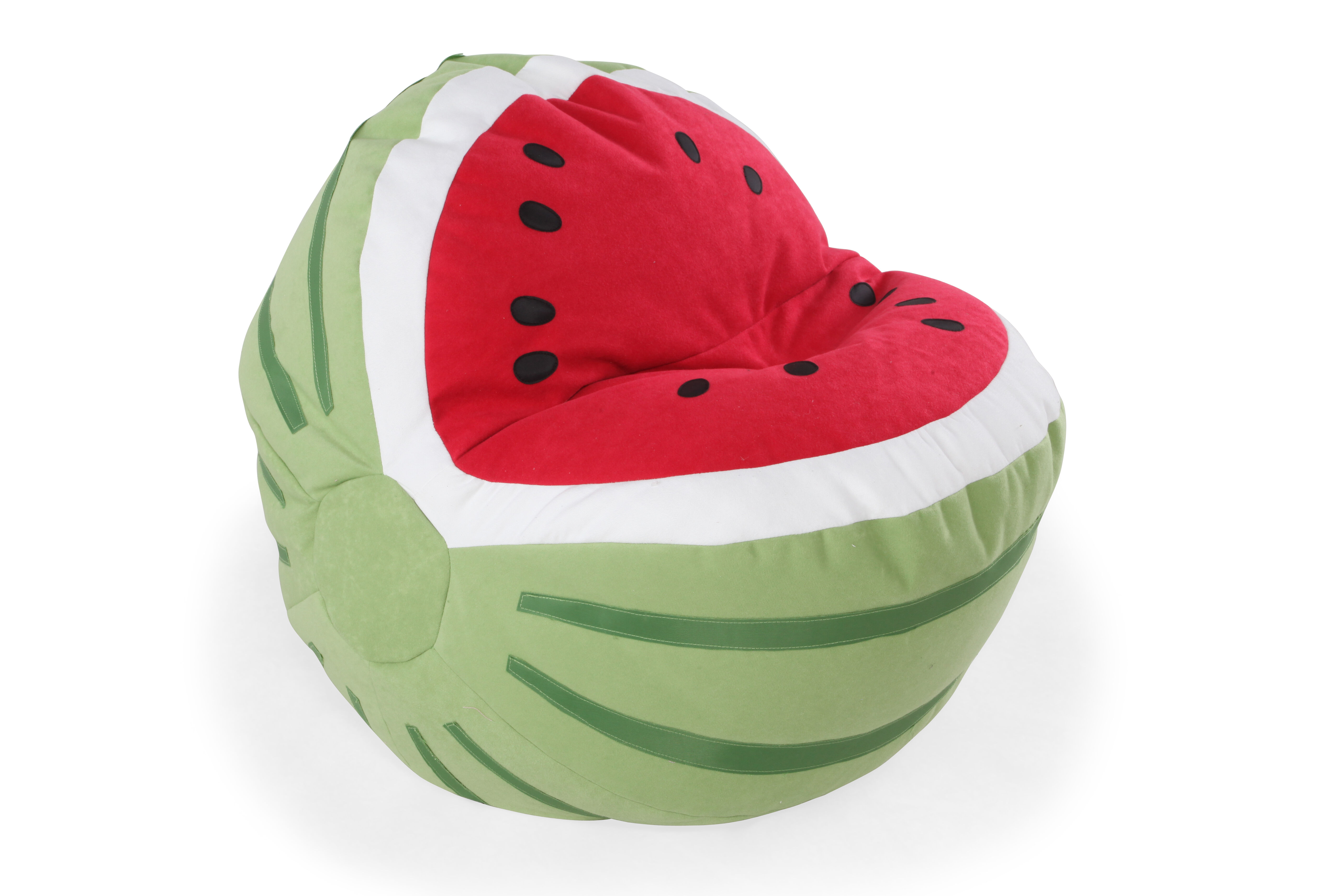 buy bean bag chair stackable dining room chairs casual watermelon youth mathis brothers