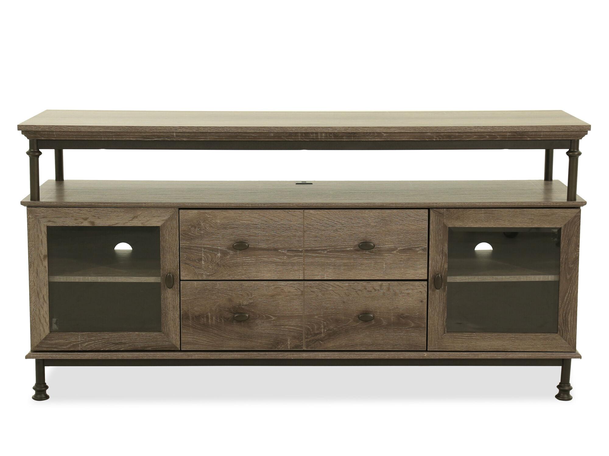 sofas tulsa ok design sofa online industrial entertainment credenza in northern oak   mathis ...