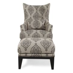Home Decor Accent Chairs Lazy Boy Lift Medicare Patterned Contemporary Chair And Ottoman Mathis