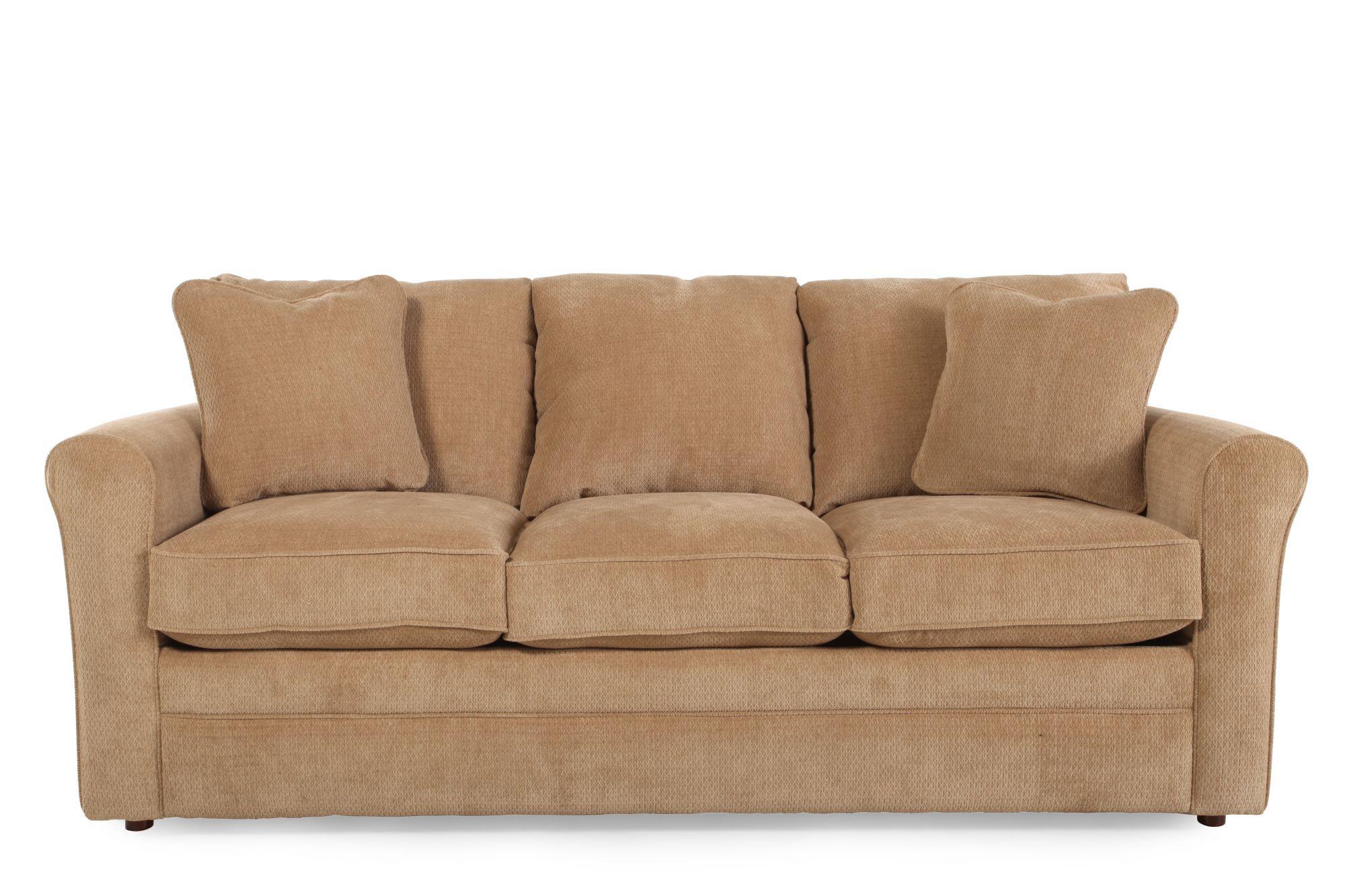 "Traditional 73.5"" Full Sleeper Sofa in Dune   Mathis ..."