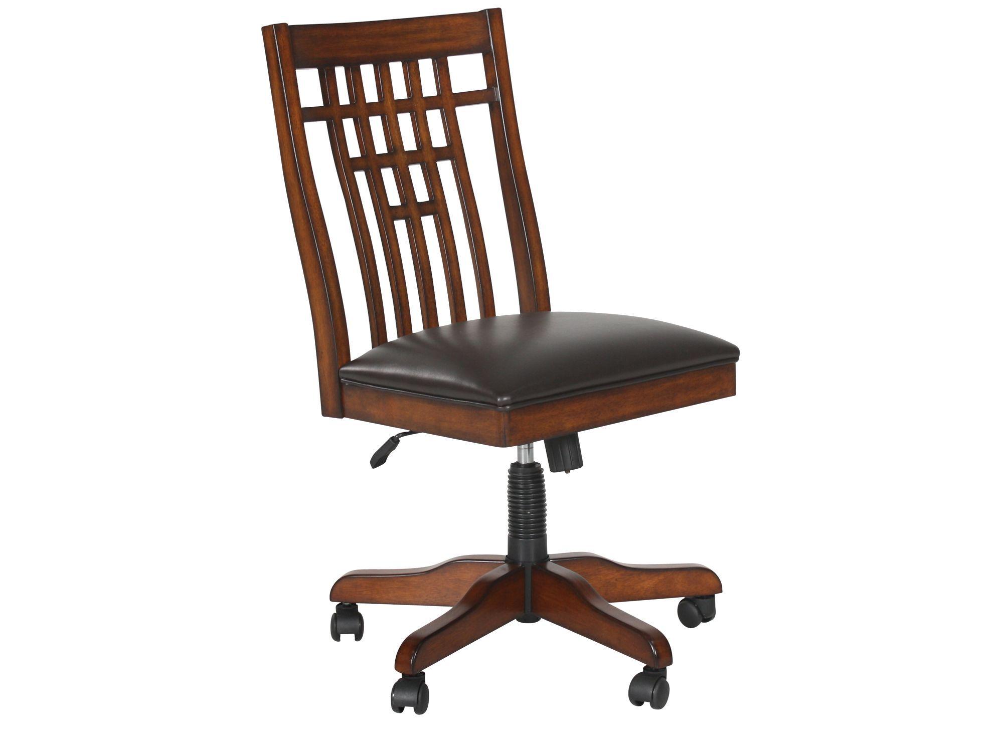 zahara swivel chair wedding covers for sale doncaster spladder back tilt office in medium oak