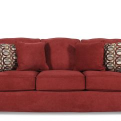 Lane Benson Queen Sleeper Sofa Buy Used Chesterfield Uk I Rest Casual 82 Quot In Red Berry Mathis