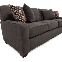 Lane Sleeper Sofa Queen Brown Casual 82 Quot In Dark Granite Gray