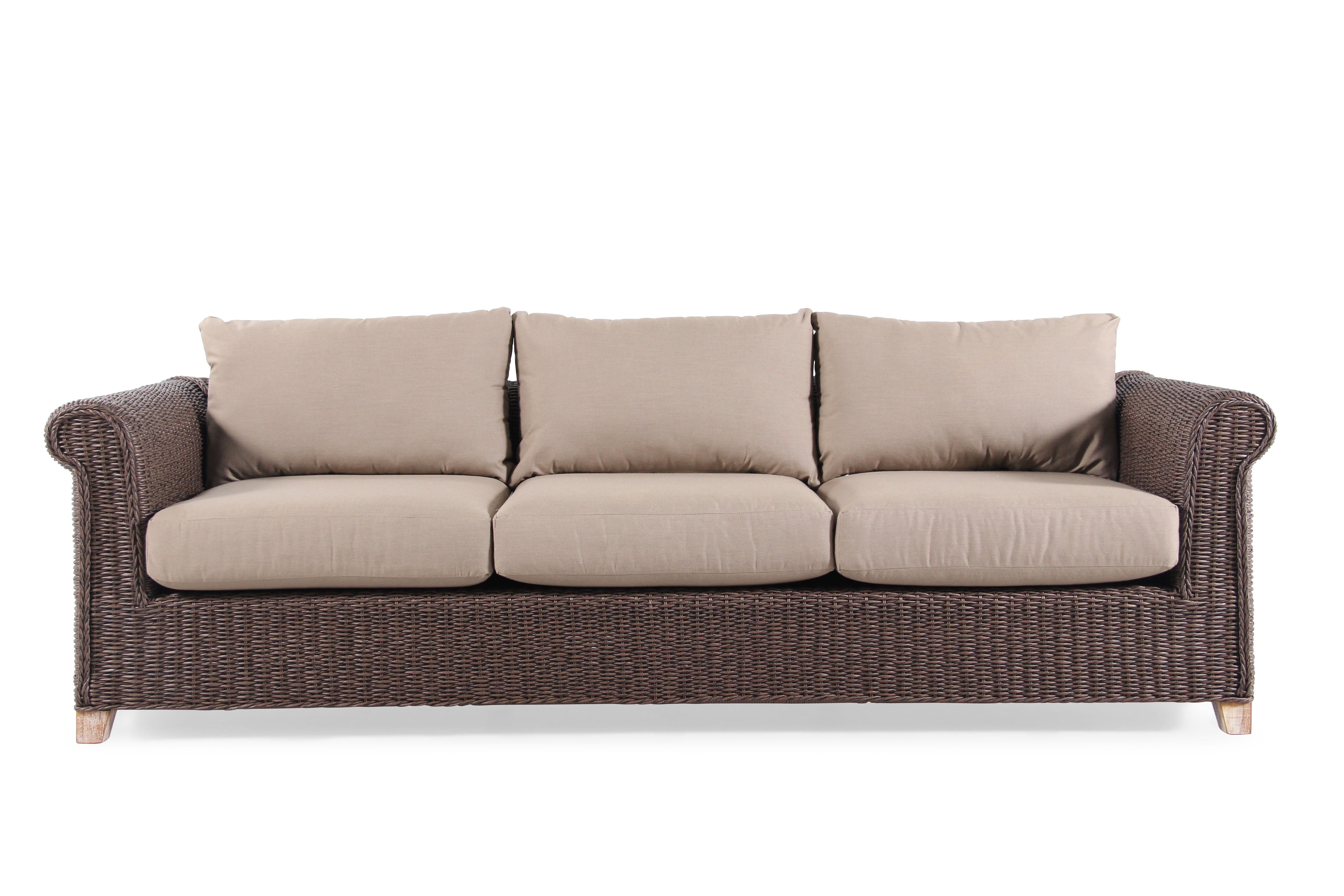 rolled arm sofa nz repair in bur dubai solid teak vanilla mathis brothers
