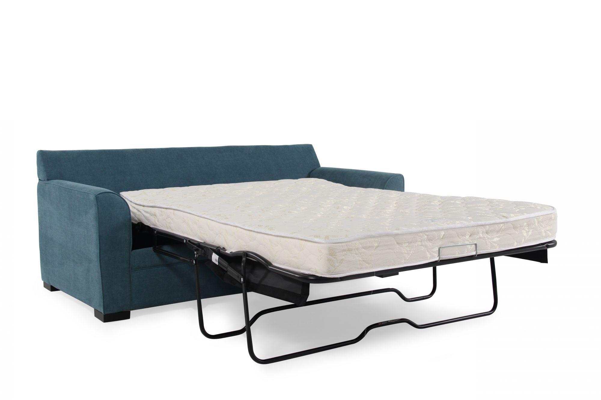 sh memory foam sleeper sofa mattress billig sofaer til salg jonathan louis blissful blue full