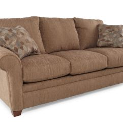 Rolled Arm Sofa Nz Brown Sectional Value City Furniture 86 Quot In Mathis Brothers
