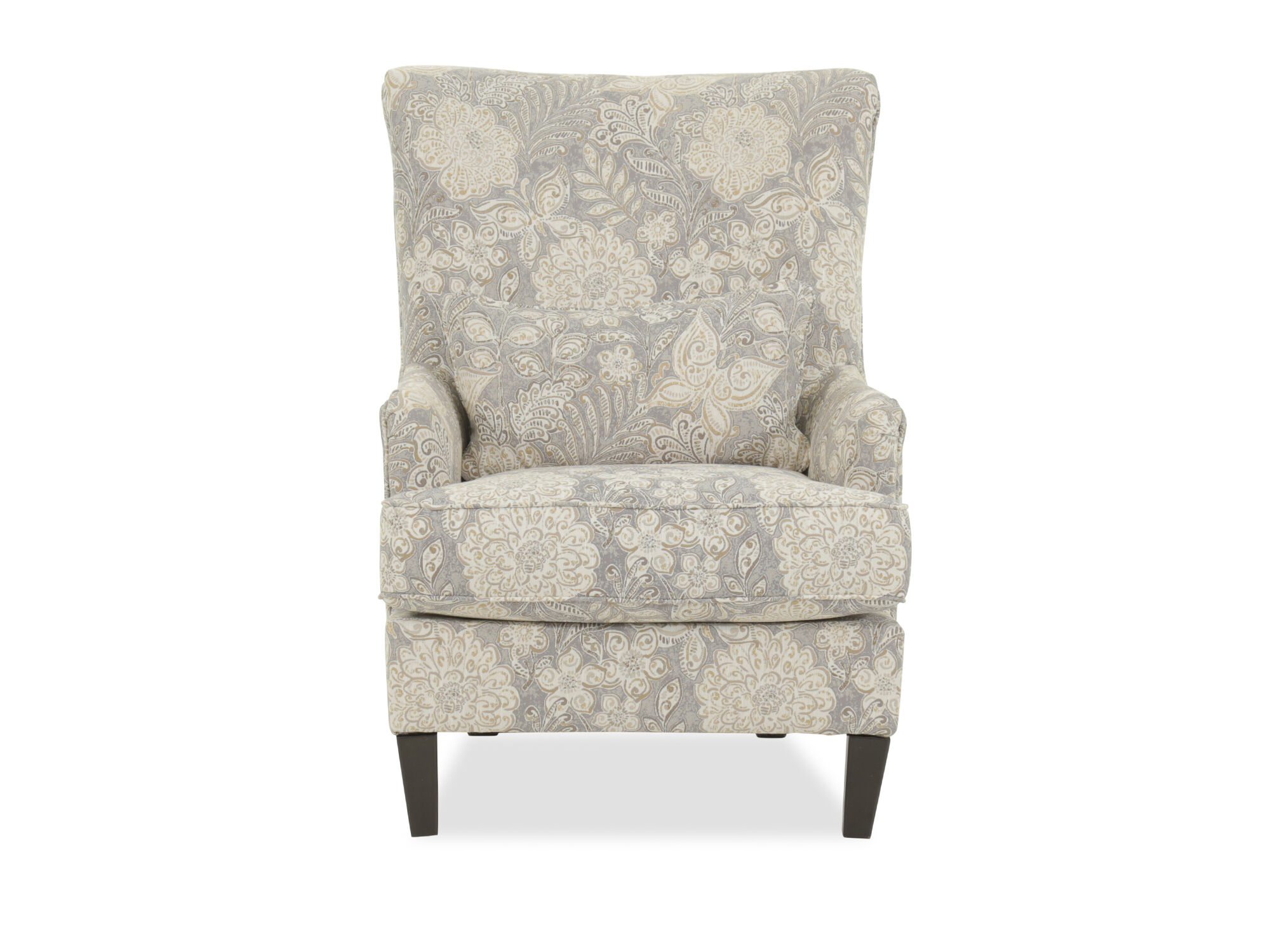 Jacquard Patterned Contemporary 30 Accent Chair  Mathis