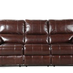 Modern Power Reclining Sofa Recliners Sectional Sofas Contemporary 90 Quot In Coffee Brown