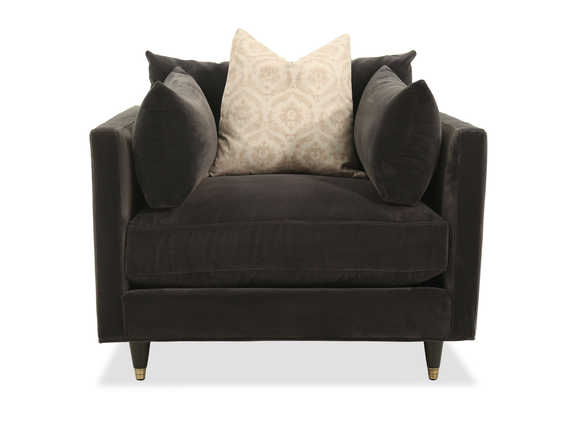 LowProfile Casual Arm Chair in Charcoal  Mathis Brothers