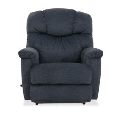 Blue Recliner Chair Butterfly Pedicure Contemporary 37 Quot In Dark Mathis Brothers