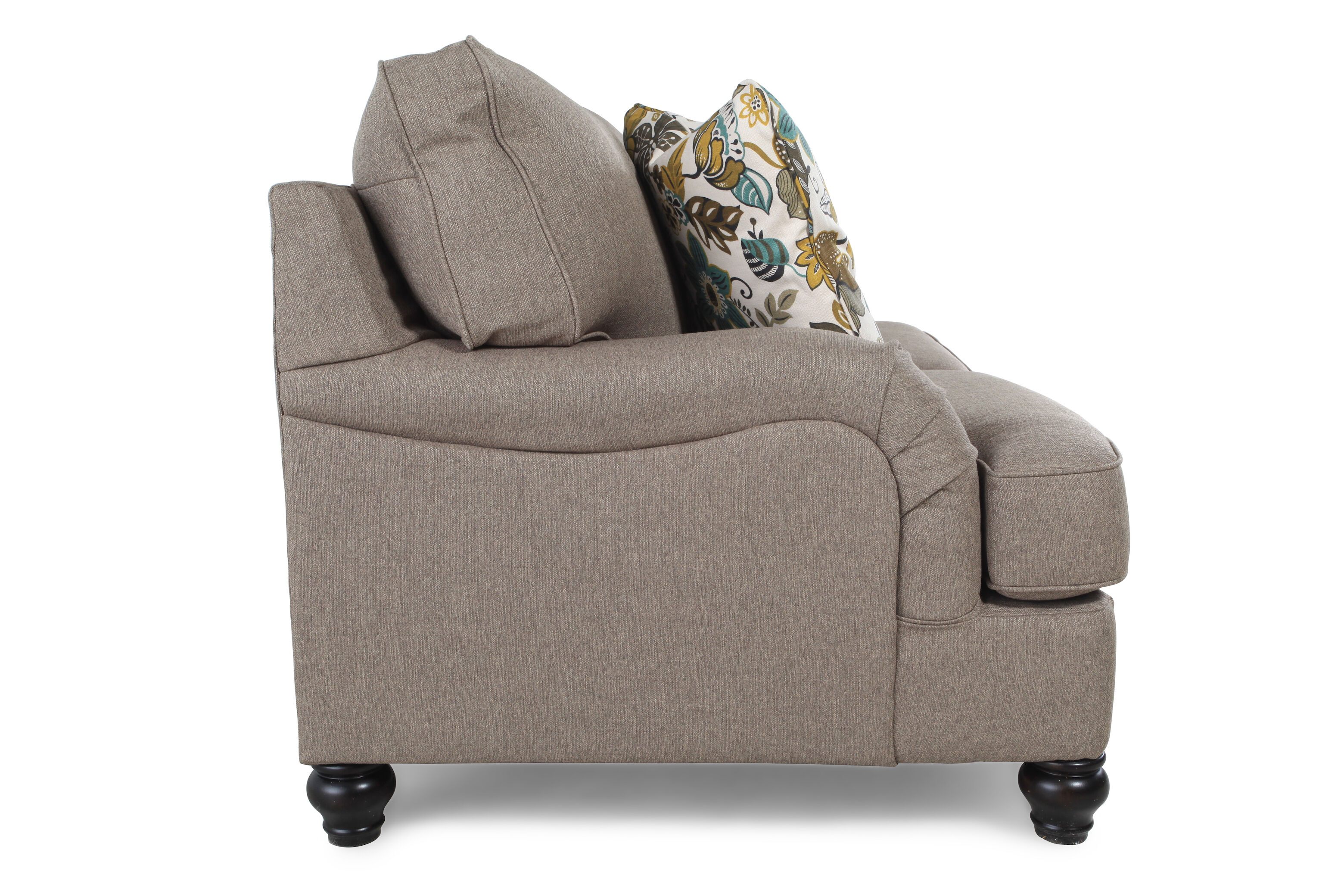 ashley hariston sofa review pull out couch casual 66 loveseat in gray mathis brothers furniture quot