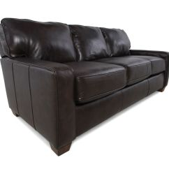 Lane Sleeper Sofa Queen Sofas Tulsa Leather 82 Quot In Brown Mathis Brothers