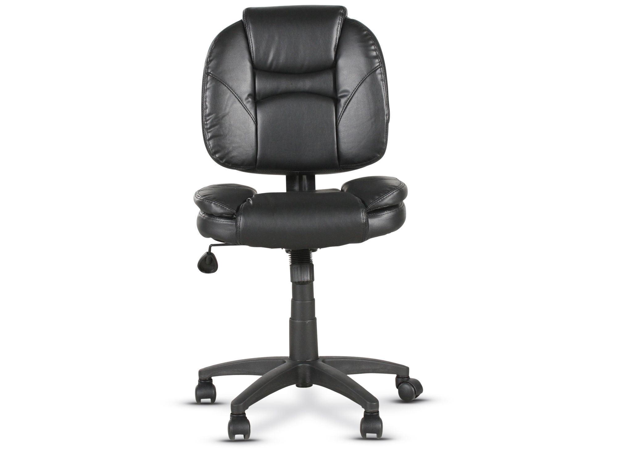 Casters Tilt Lock Task Chair in Black  Mathis Brothers