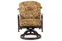 Paisley Aluminum Swivel Dining Chair | Mathis Brothers ...