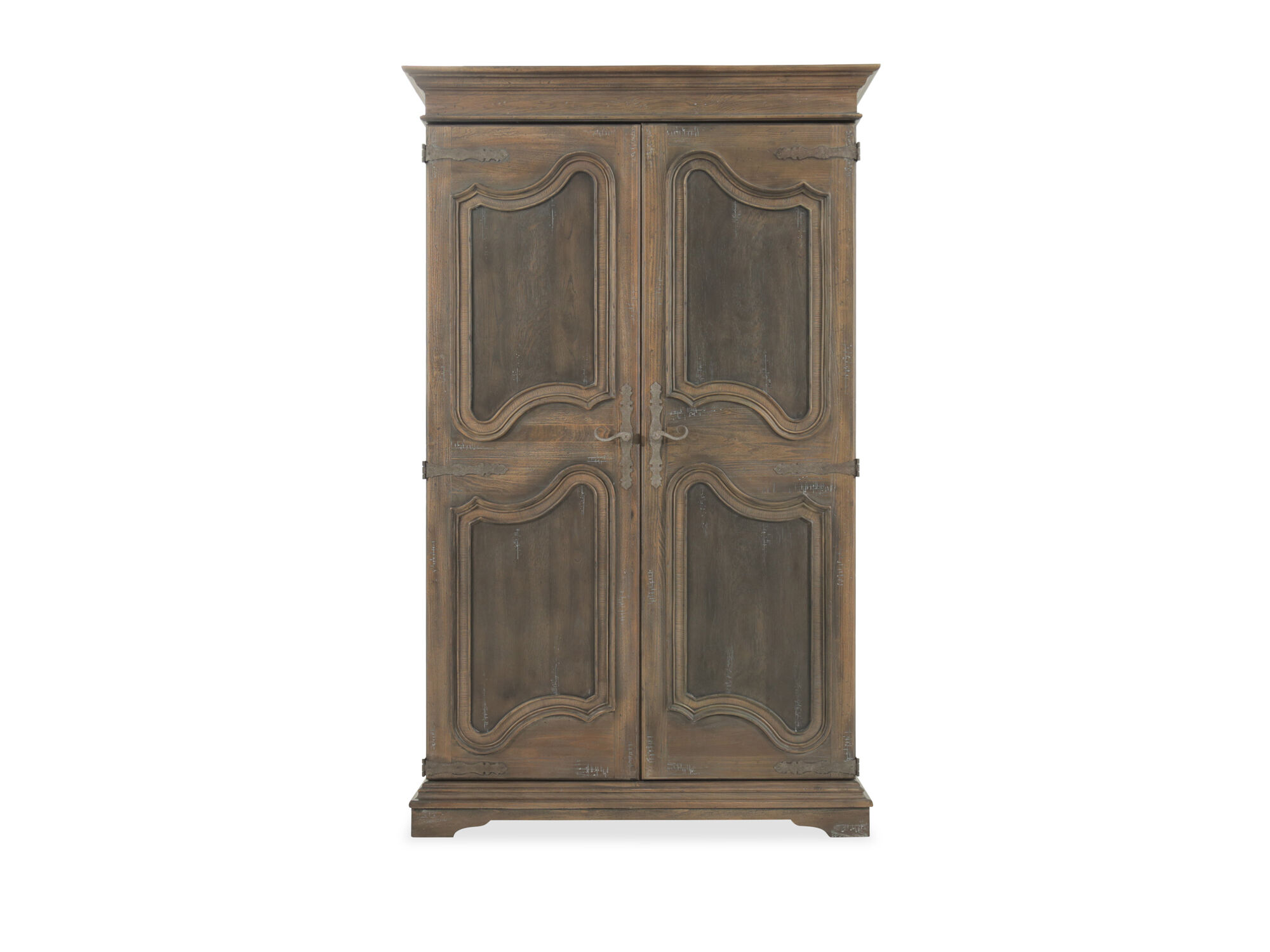 84 Refined Romantic Luxury Wardrobe in Brown  Mathis Brothers Furniture