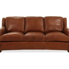 Leather Sofas Tulsa Non Toxic Sofa 86 Quot In Brown Mathis Brothers Furniture