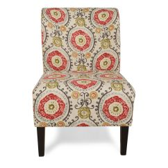 Home Decor Accent Chairs Modern Outdoor Dining Australia Floral Tapestry Contemporary 22 Quot Chair Mathis