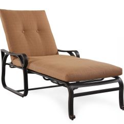 Tufted Chaise Lounge Chair Ikea Kids Chairs Button Aluminum In Brown Mathis