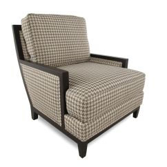 Traditional Accent Chairs Large Club Chair Patterned 37 Quot Mathis Brothers