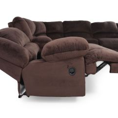 Corey Chocolate Brown Sectional Sofa L Shaped Bed Argos Microfiber 131 5 Quot In Mathis